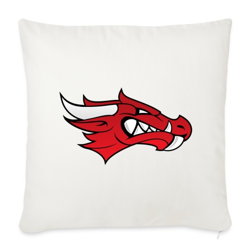 Small Dragon Logo - Sofa pillow cover 44 x 44 cm