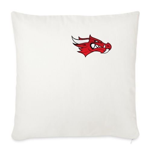 Small Dragon Logo - Sofa pillow cover 44 x 44 cm