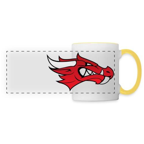 Small Dragon Logo - Panoramic Mug