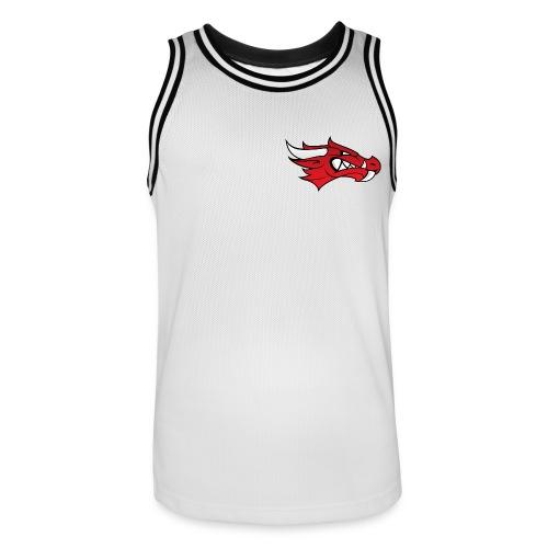 Small Dragon Logo - Men's Basketball Jersey