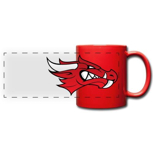 Small Dragon Logo - Full Color Panoramic Mug