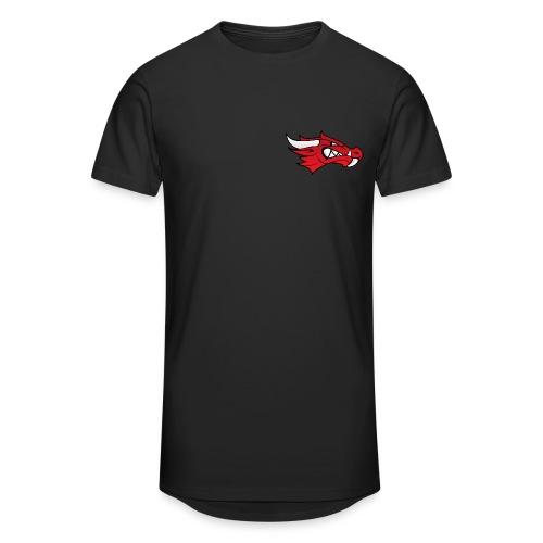 Small Dragon Logo - Men's Long Body Urban Tee
