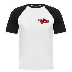 Small Dragon Logo - Men's Baseball T-Shirt