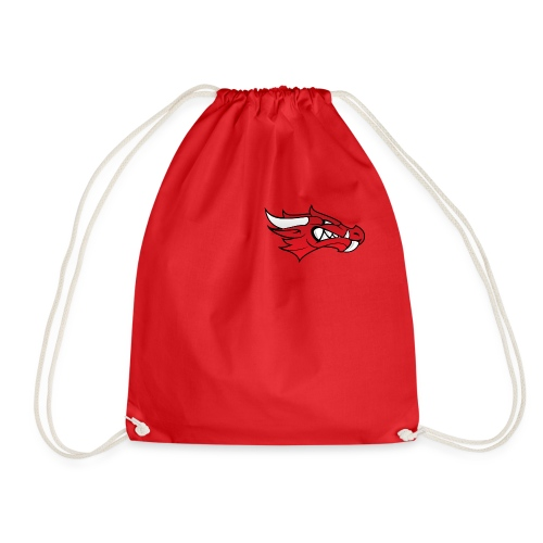 Small Dragon Logo - Drawstring Bag