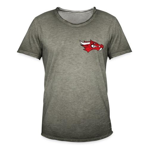 Small Dragon Logo - Men's Vintage T-Shirt