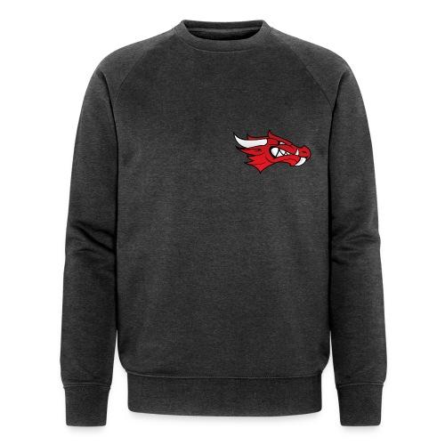 Small Dragon Logo - Men's Organic Sweatshirt by Stanley & Stella
