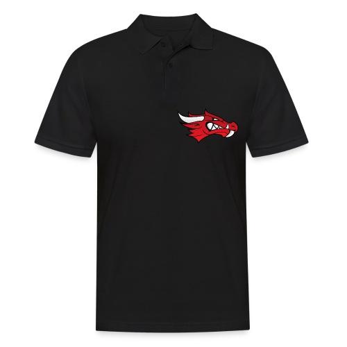 Small Dragon Logo - Men's Polo Shirt