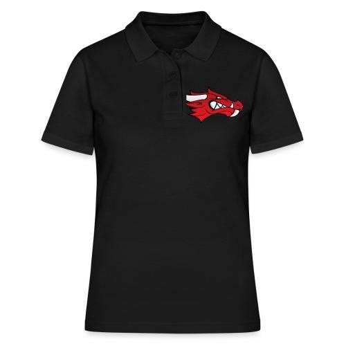 Small Dragon Logo - Women's Polo Shirt