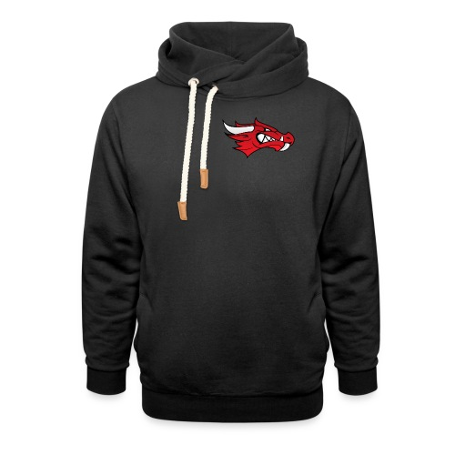 Small Dragon Logo - Shawl Collar Hoodie