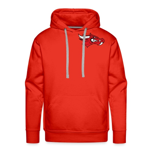 Small Dragon Logo - Men's Premium Hoodie
