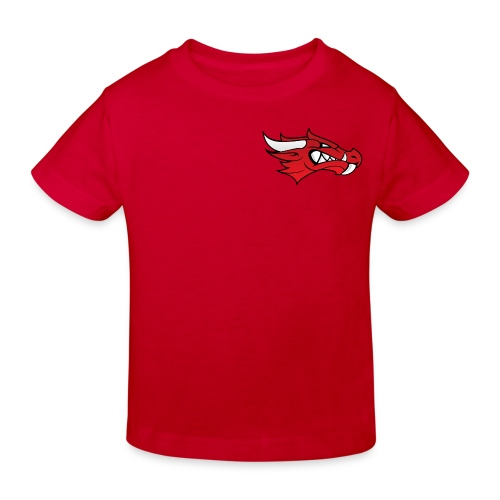 Small Dragon Logo - Kids' Organic T-Shirt