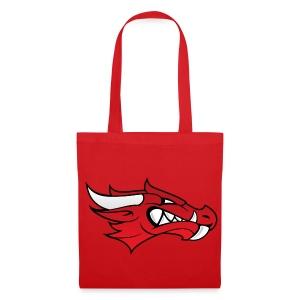 Small Dragon Logo - Tote Bag