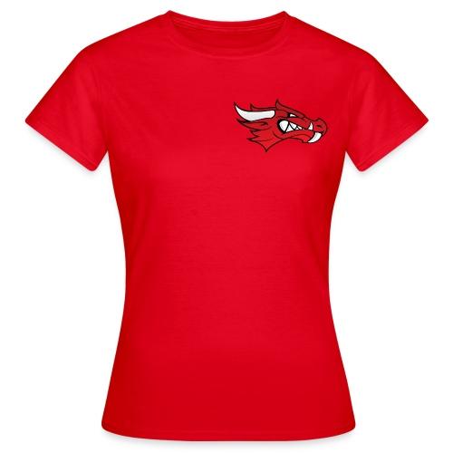 Small Dragon Logo - Women's T-Shirt
