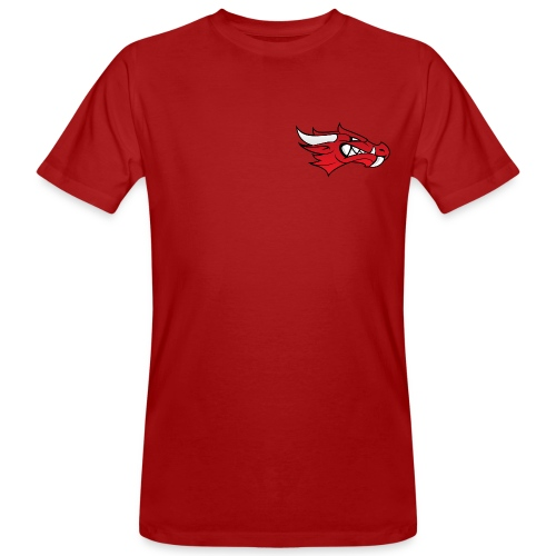 Small Dragon Logo - Men's Organic T-shirt