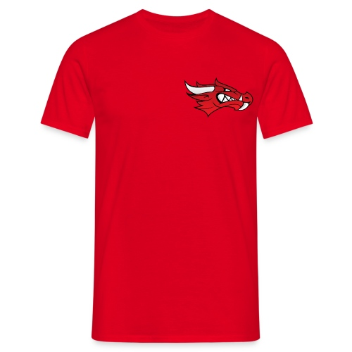 Small Dragon Logo - Men's T-Shirt