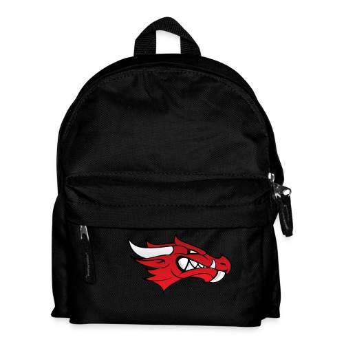 Small Dragon Logo - Kids' Backpack