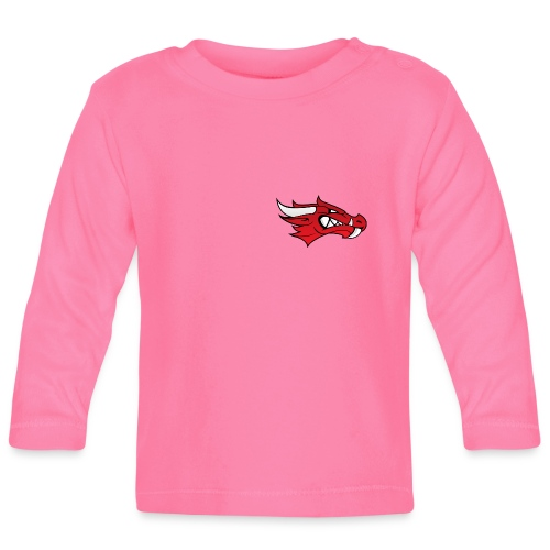 Small Dragon Logo - Baby Long Sleeve T-Shirt