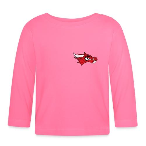 Small Dragon Logo - Baby Long Sleeve T-Shirt