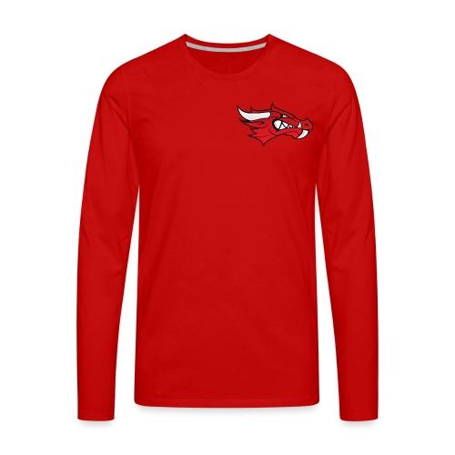 Small Dragon Logo - Men's Premium Longsleeve Shirt