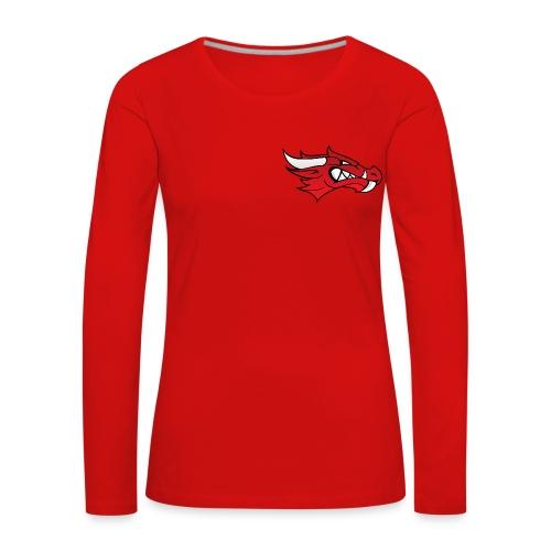 Small Dragon Logo - Women's Premium Longsleeve Shirt