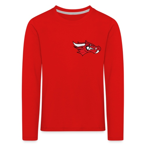 Small Dragon Logo - Kids' Premium Longsleeve Shirt