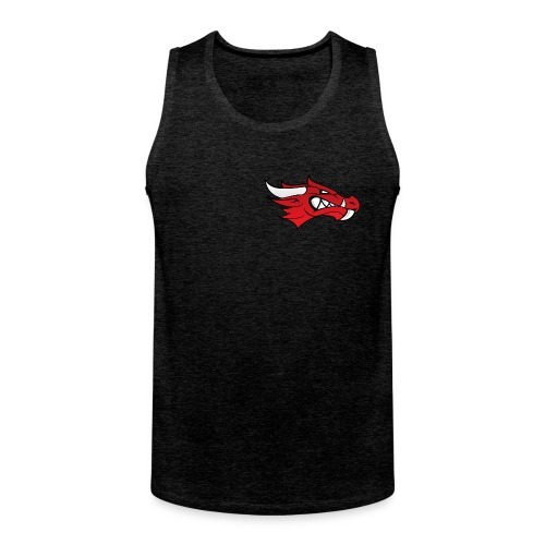 Small Dragon Logo - Men's Premium Tank Top