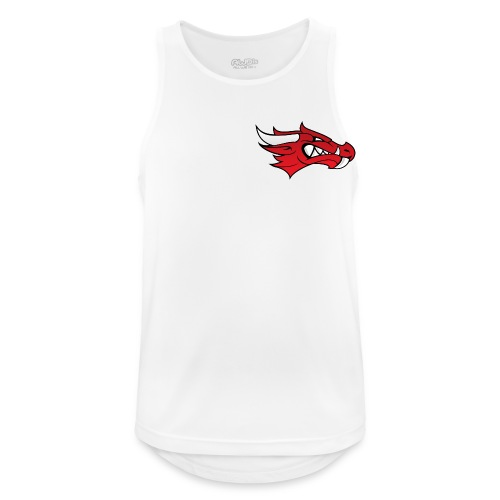 Small Dragon Logo - Men's Breathable Tank Top