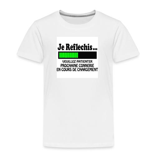 T-shirt Humouristique - T-shirt Premium Enfant