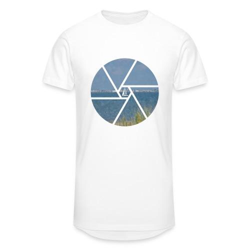 Segelboot im Focus - Männer Urban Longshirt