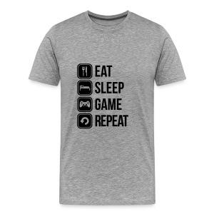 VIE D'UN GEEK - T-shirt Premium Homme