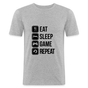 VIE D'UN GEEK - Tee shirt près du corps Homme