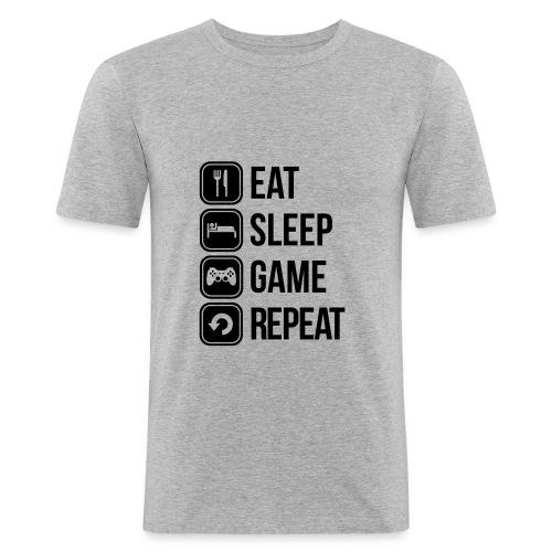 VIE D'UN GEEK - T-shirt près du corps Homme