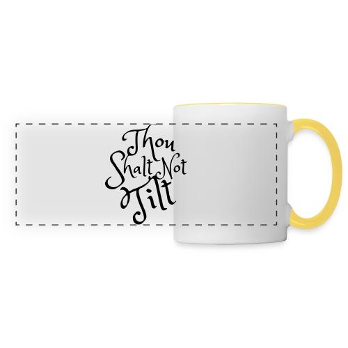 Thou Shalt Not Tilt - Mousepad - Panoramamugg