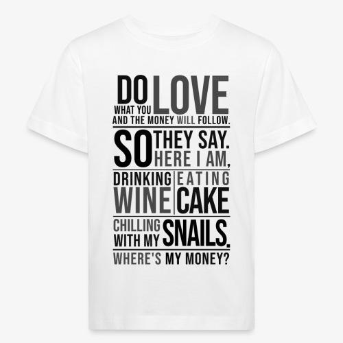Lasten luonnonmukainen t-paita