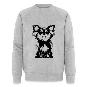 Chihuahua Glitter (zwart) - Mannen bio sweatshirt van Stanley & Stella