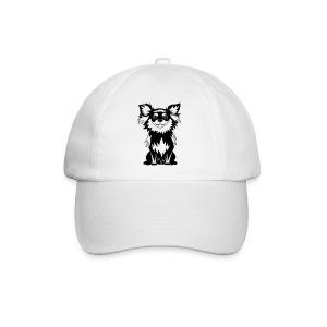 Chihuahua Glitter (zwart) - Baseballcap