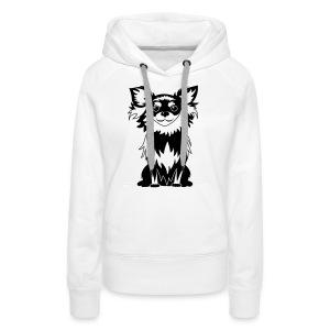 Chihuahua Glitter (zwart) - Vrouwen Premium hoodie