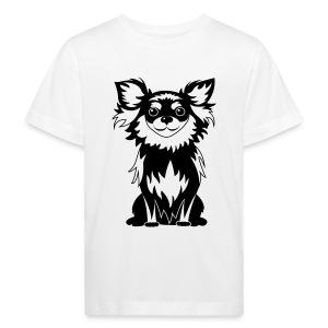 Chihuahua Glitter (zwart) - Kinderen Bio-T-shirt