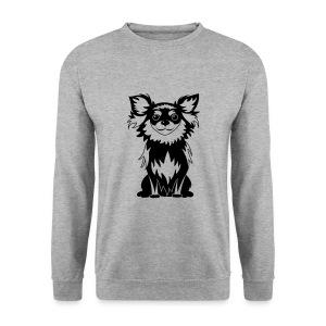Chihuahua Glitter (zwart) - Mannen sweater