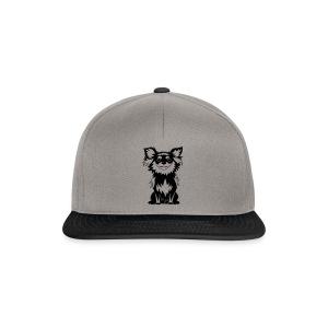 Chihuahua Glitter (zwart) - Snapback cap