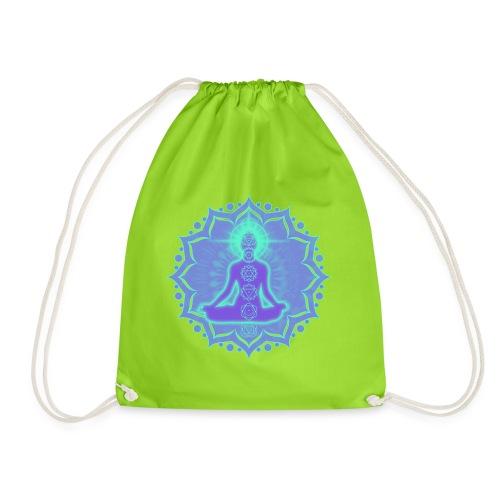 Yoga Lotus Meditation Chakren II - Turnbeutel