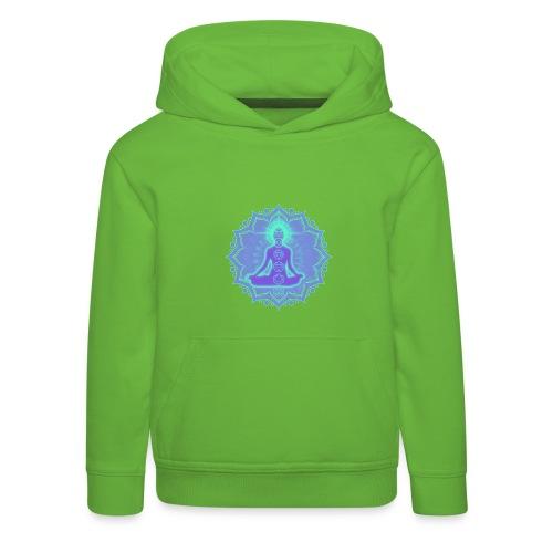 Yoga Lotus Meditation Chakren II - Kinder Premium Hoodie