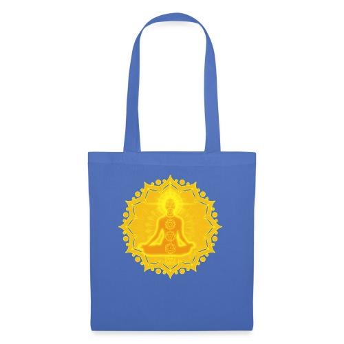 Yoga Lotus Meditation Chakren III - Stoffbeutel