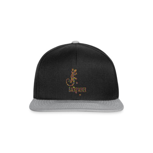 Backpacker - Running Ethno Gecko 3 - Snapback Cap