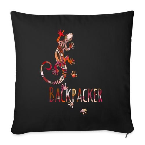 Backpacker - Running Ethno Gecko 4 - Sofakissenbezug 44 x 44 cm