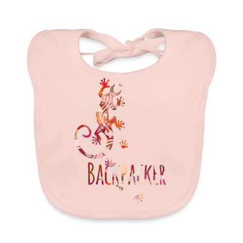 Backpacker - Running Ethno Gecko 4 - Baby Bio-Lätzchen