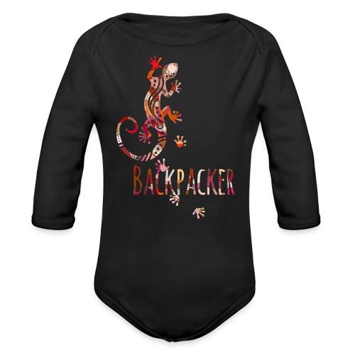 Backpacker - Running Ethno Gecko 4 - Baby Bio-Langarm-Body