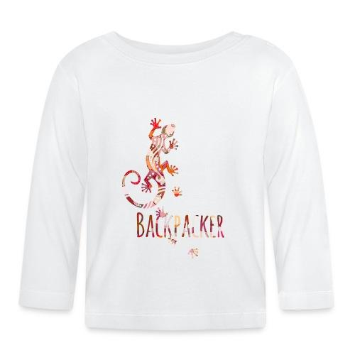 Backpacker - Running Ethno Gecko 4 - Baby Langarmshirt