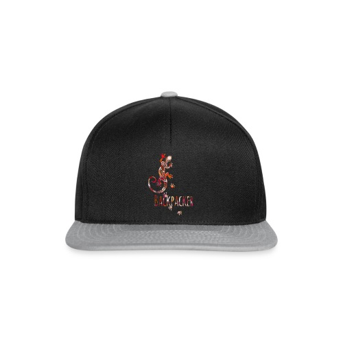 Backpacker - Running Ethno Gecko 4 - Snapback Cap
