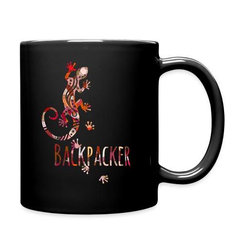 Backpacker - Running Ethno Gecko 4 - Tasse einfarbig